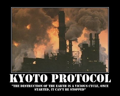 kyoto protocol a treaty on climate change that commits parties to reduce greenhouse gases emission Twelve years ago, the kyoto protocol set the stage for global climate change policy the 37 nations that did commit were legally bound to reduce their emissions by a certain amount between 2008 through 2012.