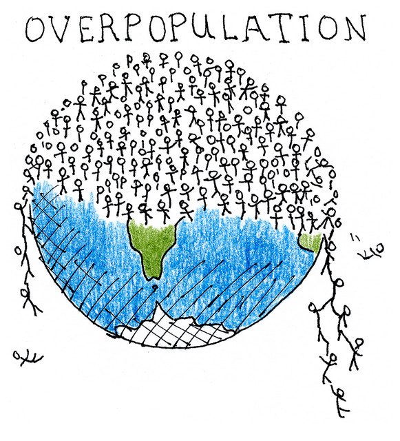 Overpopulated Earth