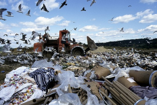 Landfill in Danbury Connecticut