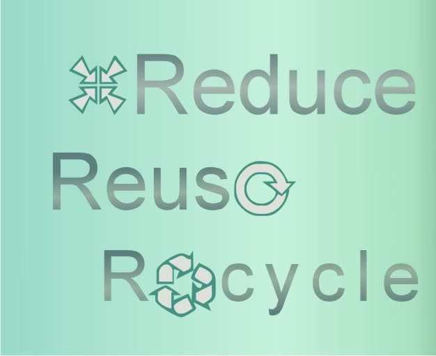 "The Three R's: ""Reduce, Reuse, Recycle"" Waste Hierarchy ..."