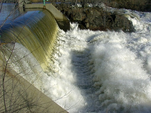 hydroelectric-waterfall
