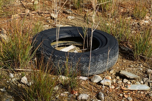 old-tire-mature-pollution-garbage