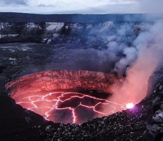molten-volcano-lava-evening