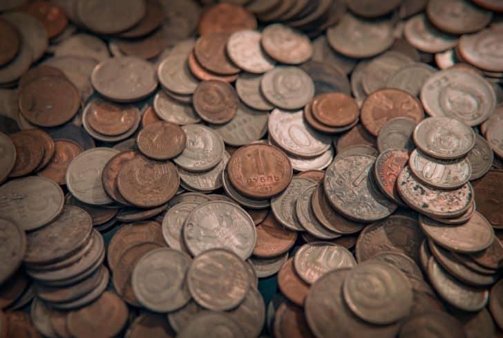 copper-coins-ancient-roman-money-old