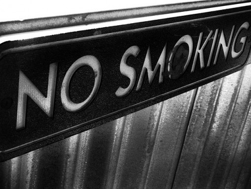 No-smoking-zone