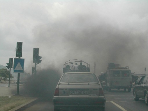 Pollution-vehicles