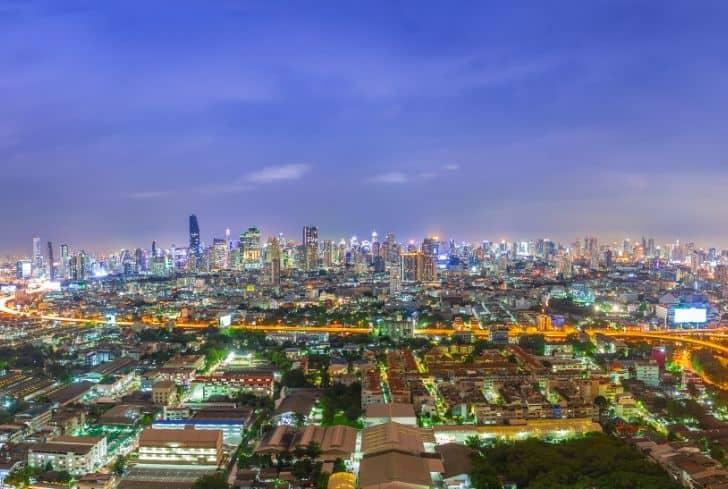 city-night-life-pollution