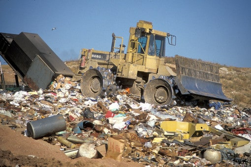 garbage-at-a-landfill