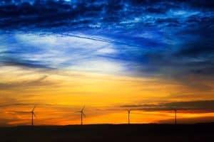 sunrise-sun-windräder-clouds-wind-turbine