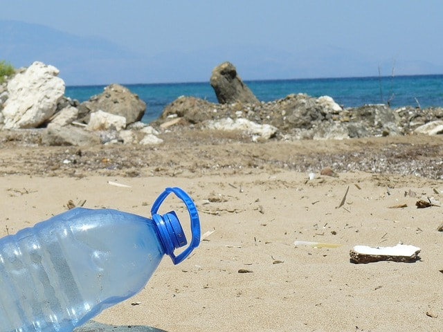plastic-bottle-bottle-beach-sea