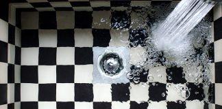 sink-kitchen-checkered-water-tap