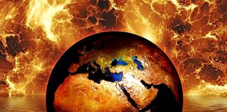 earth-globe-water-fire-flame