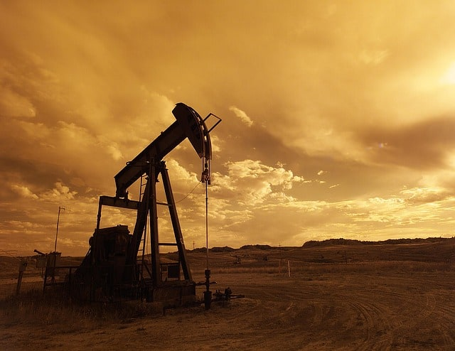oil-pump-jack-sunset-clouds