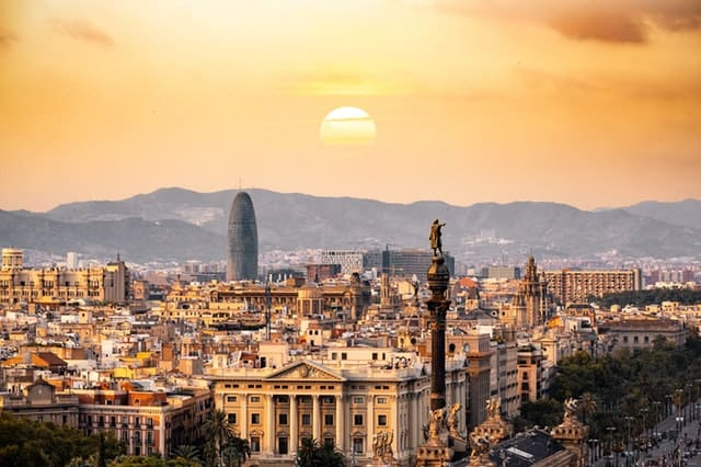 aerial-photography-of-city-spain