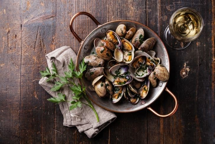 Clams benefits