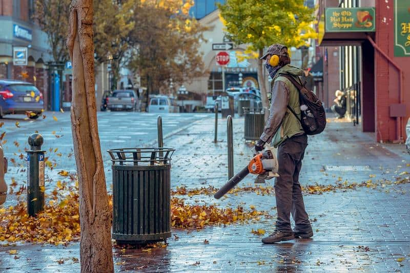 fall-blowing-street-leaves-blower