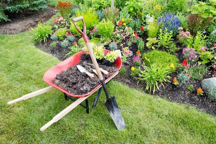 photo-garden-work-being-done-landscaping-manure