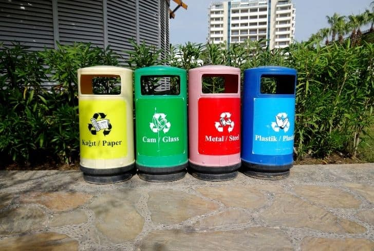 red-blue-green-yellow-recyle-bins