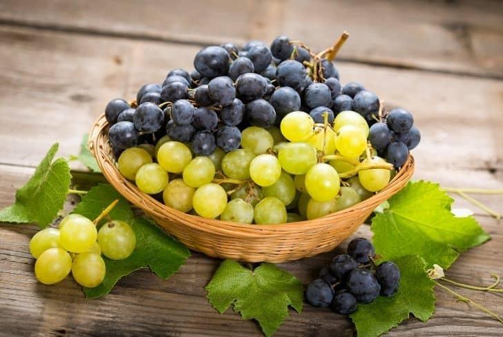 fresh-grapes-in-basket