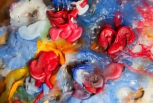 colorful-candle-wax